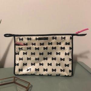 Kate Spade Bow Print Cosmetic Bag